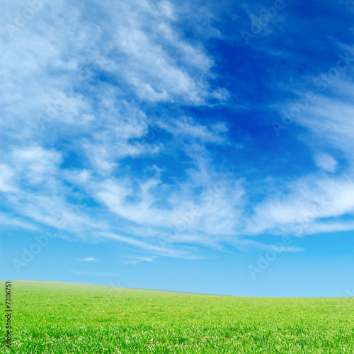 poster of white fluffy clouds
