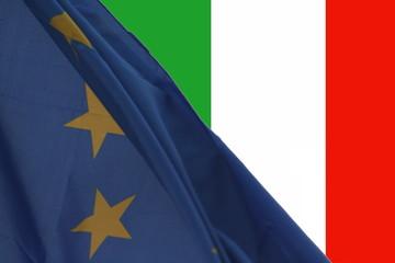 bandiera Europea / Italiana