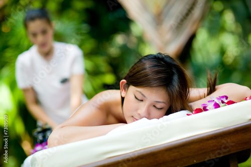 Outdoor Massage