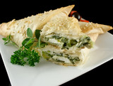 Spinach And Feta Parcels poster