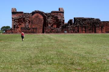 Old Ruins in Trinidad, Paraguay