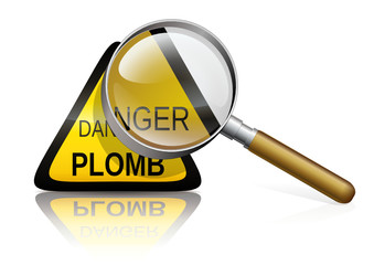 Diagnostic plomb (reflet)