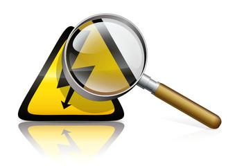 Diagnostic électricité (reflet)