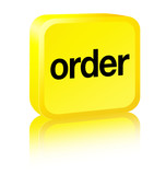 Order Sign - yellow poster