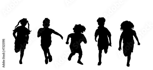 Children Running - 7325198
