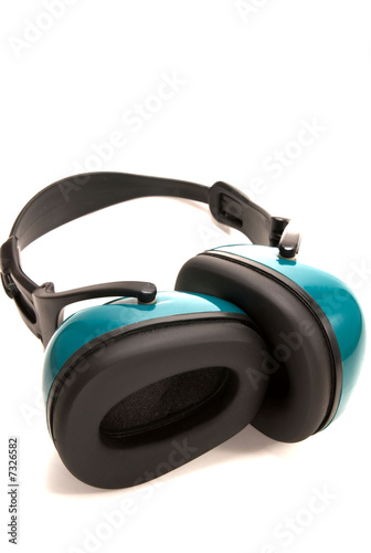 Ear phones to block out noise.