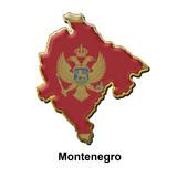 Montenegro metal pin badge poster