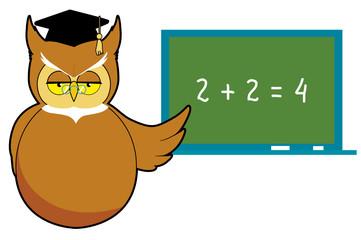 Wise owl teaching