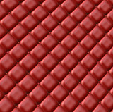 Red leather surface poster