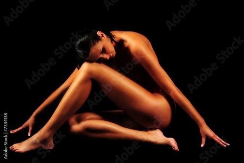 Leinwanddruck Bild Erotik