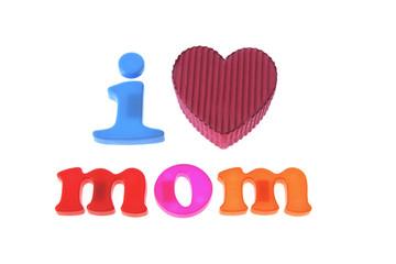 Mom and Gift Box