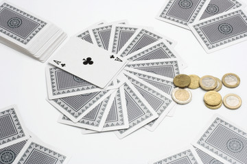 betting cards