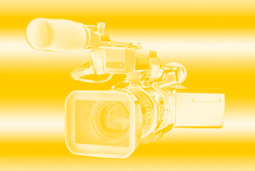 Professional digital video camera