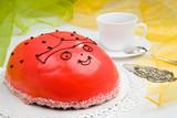 ladybird cake poster
