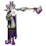 Jester Holding Joker Card poster