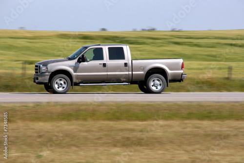 Plexiglas Canada Pickup truck