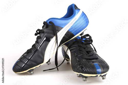 canvas print picture football boots