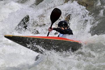 Kayak slalom