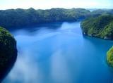 Naklejka Rock Island (Micronesia), veduta aerea