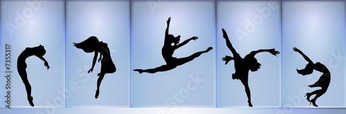 Fototapeta Dancers