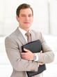 Портрет бизнесмена, молодой, профессиональный.
