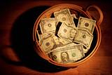 Košík peněz