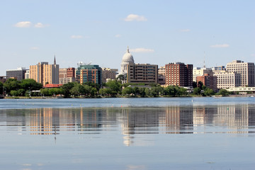 Skyline of Madison Wisconsin