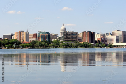 Skyline of Madison Wisconsin