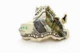wrinkled money poster