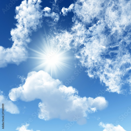 canvas print picture Sky