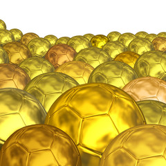 golden balls background