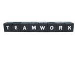 teamwork spelled out