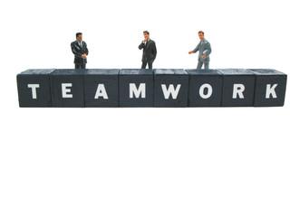 business is teamwork