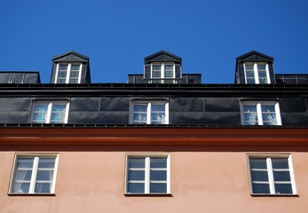 Windows in a row