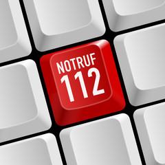 taste notruf 112