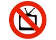 Interdiction de regarder la télévision