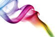 Quadro Colorful Rainbow Smoke