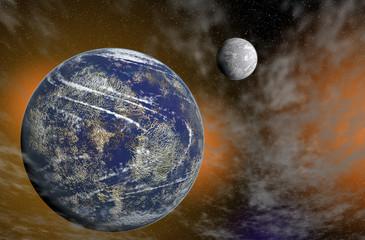 Planetas en Orbita