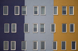 Multi colored apartments 1
