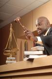 Judge making a rule