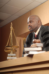 Fair and attentive judge