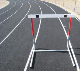 Track and Field - How many hurdles will you have to jump