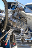 Hot Rod chrome engine