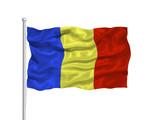 Romania Flag 2 poster