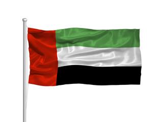 United Arab Emirates Flag 2