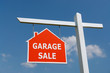 Garage Sale signpost