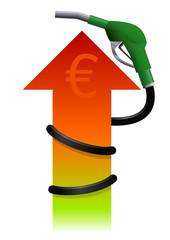Carburant en hausse (euro)