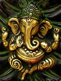 ganesha statuette casting poster