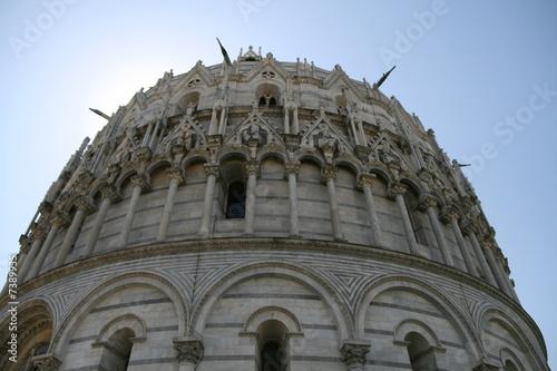 Baptisterium in Pisa
