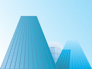 Vector of buildings